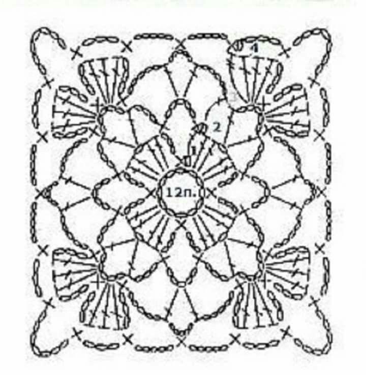 Pin de Kamilah Jamail en Crochet stitches | Pinterest | Ganchillo ...