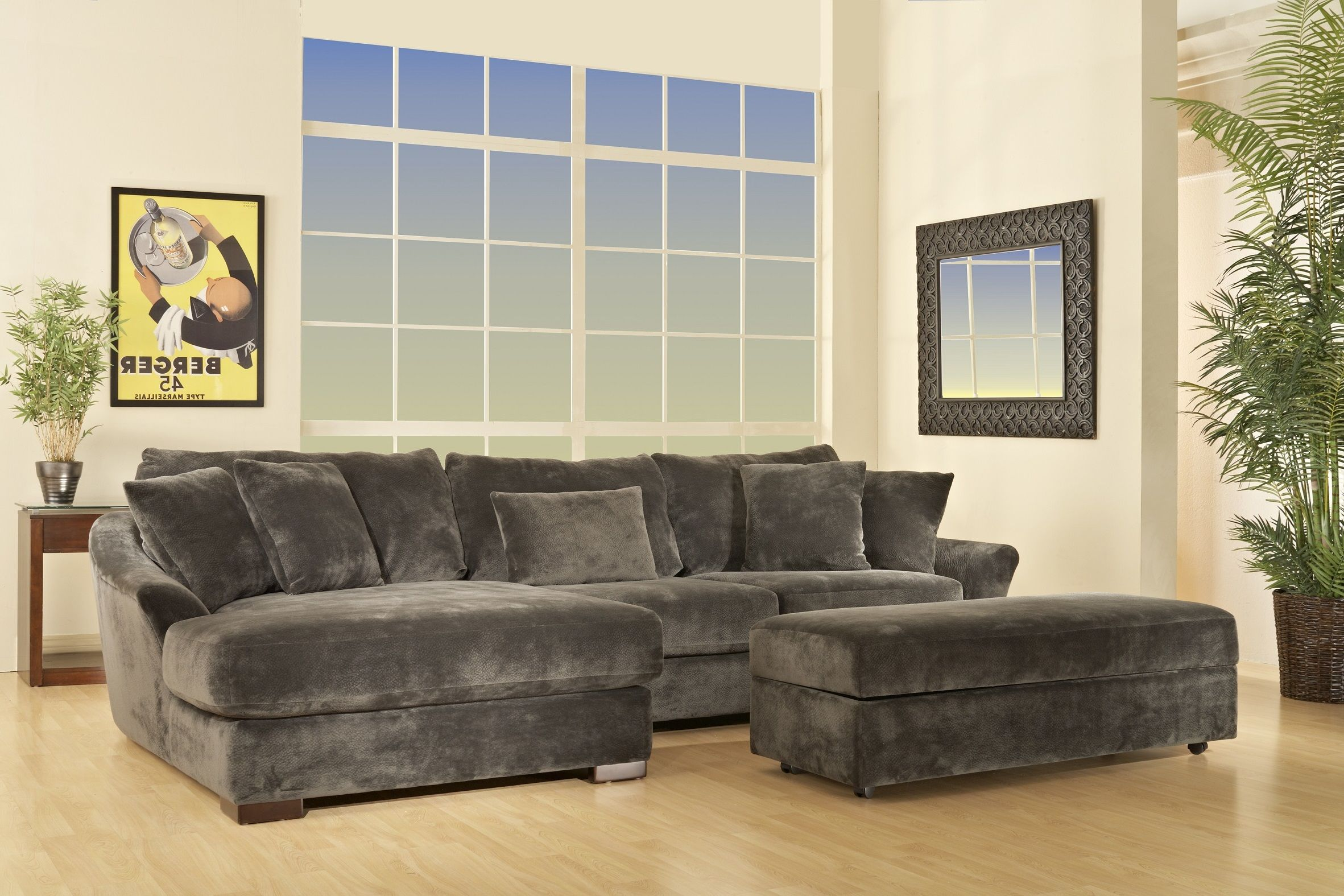 Atlanta Sofa Sectional With Left Arm Chaise By Fairmont