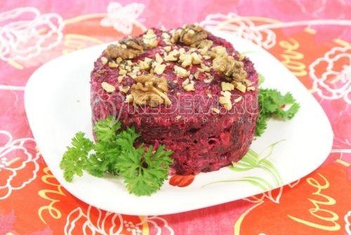 Салат рецепты овощные с фото