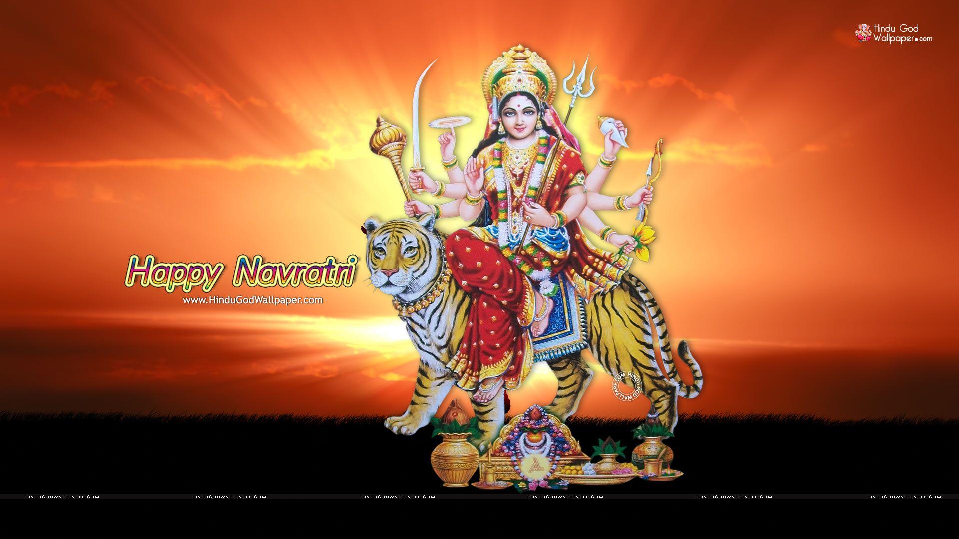 1080p Happy Navratri Hd Wallpaper Full Size Download Hd Wallpapers 1080p Hd Wallpaper Navratri Wallpaper