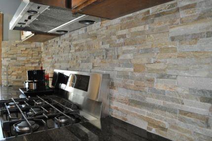 Kitchen Backsplash Ideas Natural Stone Tips For Creating Unusual - Kitchen stone backsplash ideas