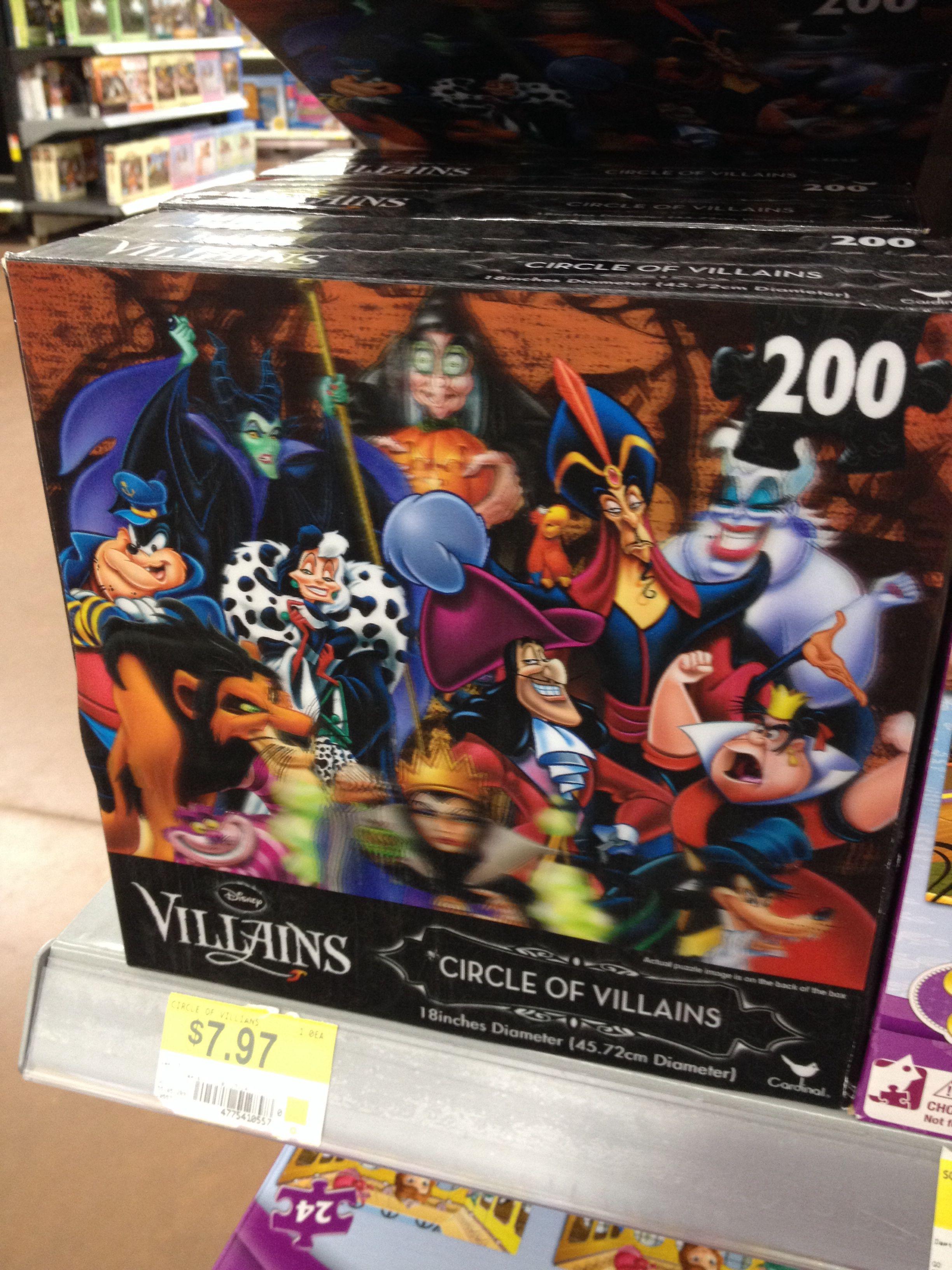 $8 for Disney villain puzzle - found at walmart
