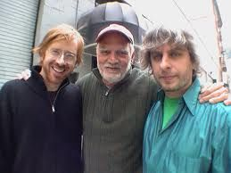 Trey, Billy, and Mike