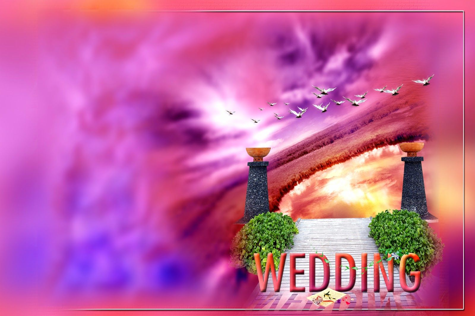 Marriage Background Psd Wpawpartco