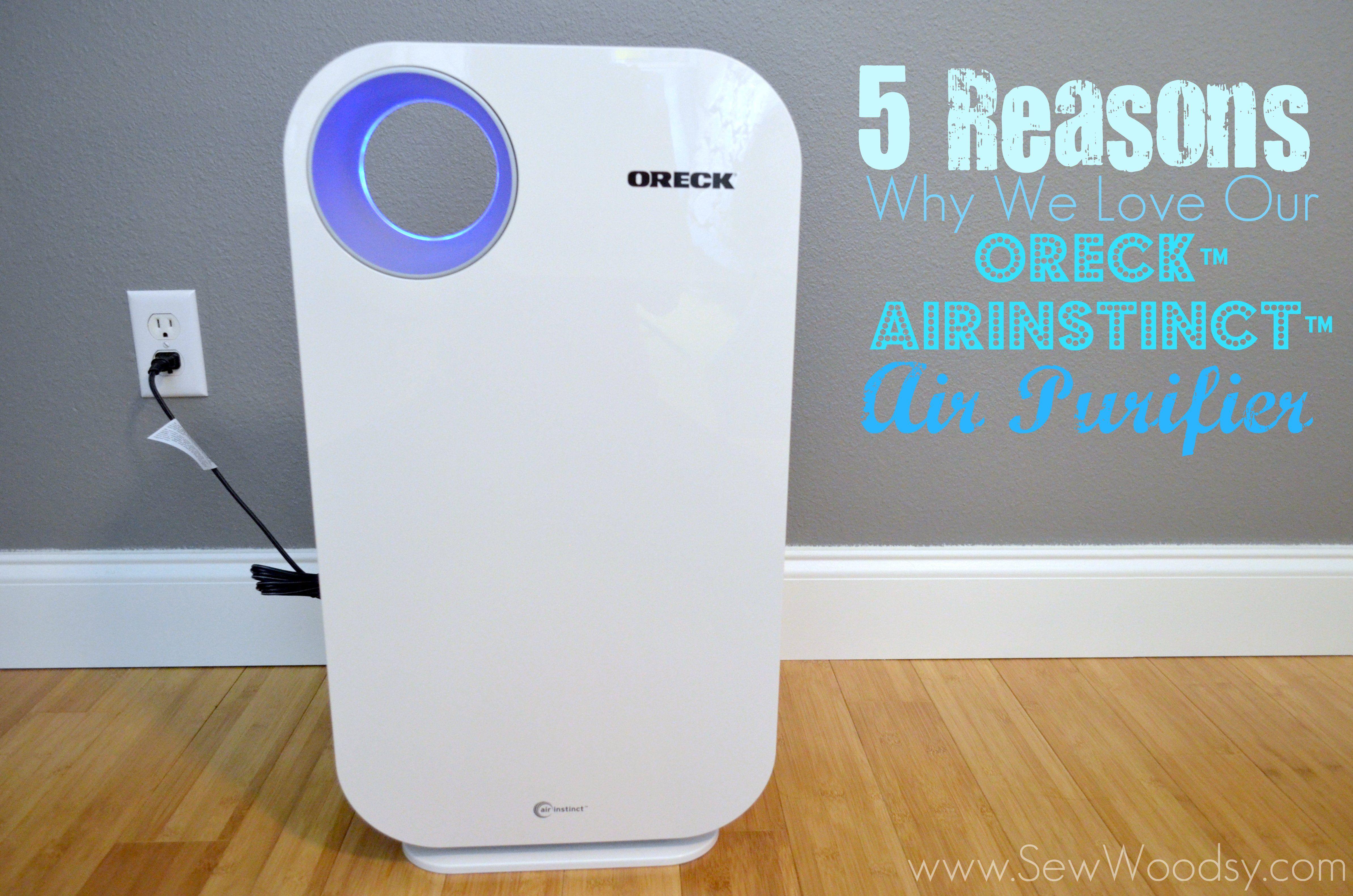 Oreck AirInstinct Air Purifier Air purifier, Oreck, Giveaway