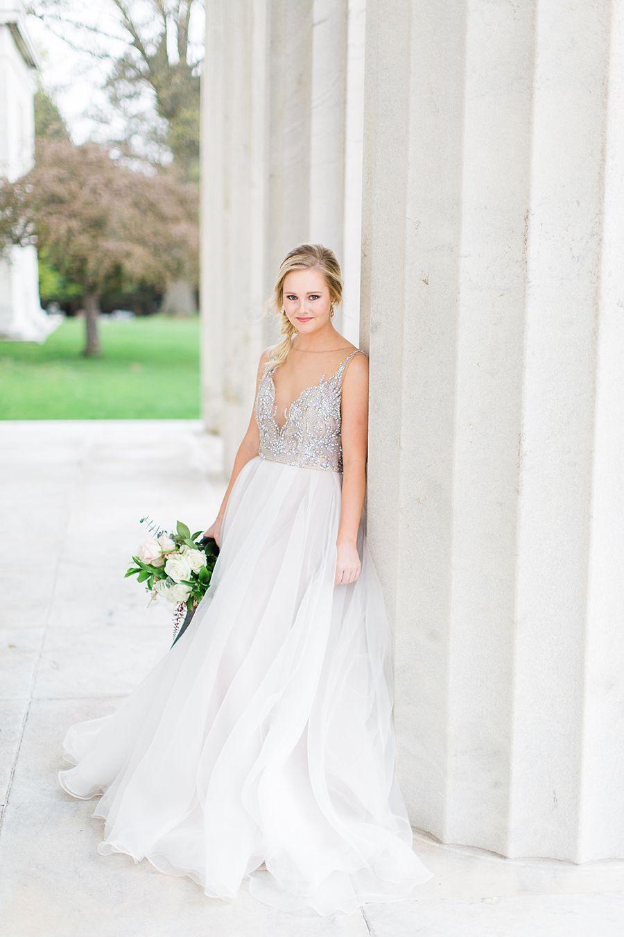 Effortless Wedding Day Glam in Pewter and Pastels | Weddingideas ...