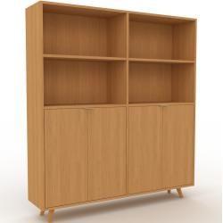 Photo of Aktenschrank Eiche – Flexibler Büroschrank: Türen in Eiche – Hochwertige Materialien – 152 x 168 x 3
