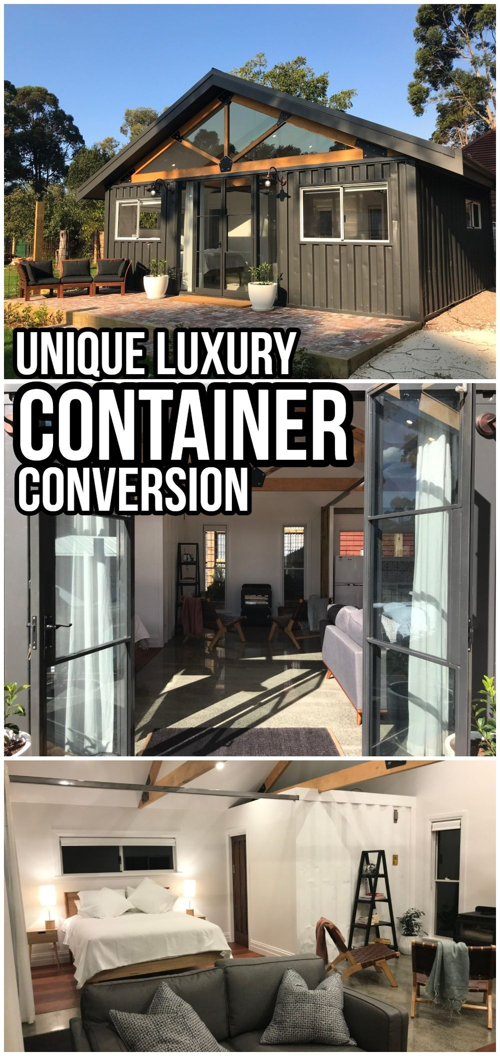 Unique Luxury Container Conversion from Australia - Living in a Container