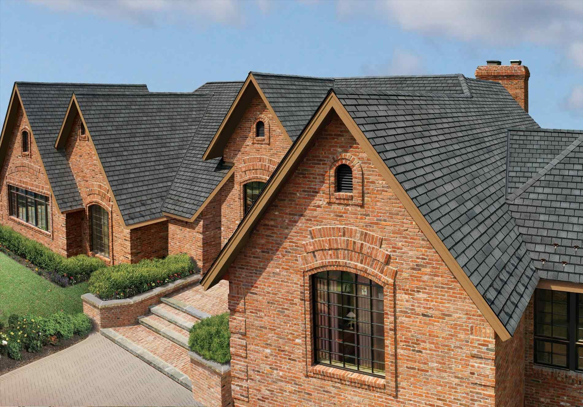 Best Williamsburg Slate Roof Shingles House Roofing 640 x 480