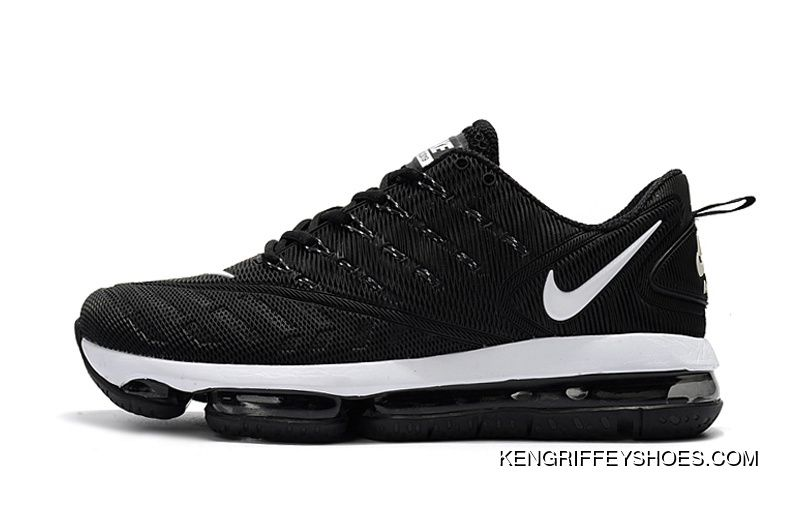 2d4952e664a078 2019 Nike Air VaporMax 36-47 Women Men Black White New Year Deals in ...