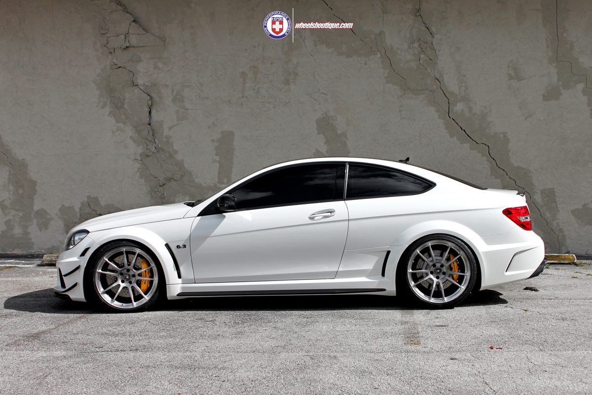 Mercedes Benz C63 Amg Blackseries With Hre P44sc In Brushed