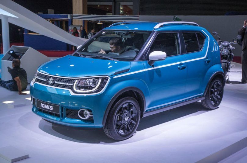 Upcoming Maruti Suzuki Ignis Showcased At 2016 Paris Motor Show The India Bound