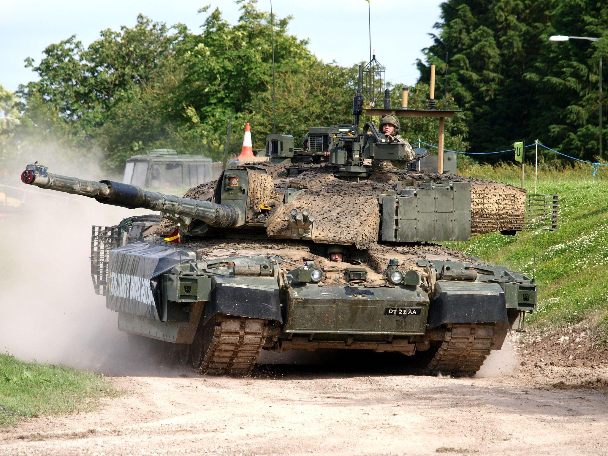 f3e37fc58c60 Challenger 2 main battle tank nicknamed