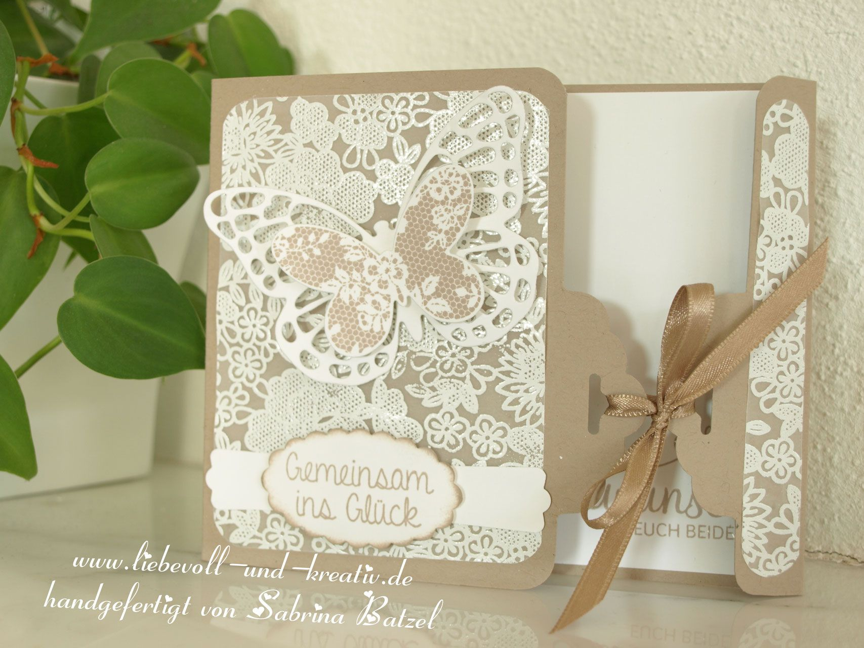 gl ckwunschkarte zur hochzeit wedding card stampin 39 up. Black Bedroom Furniture Sets. Home Design Ideas