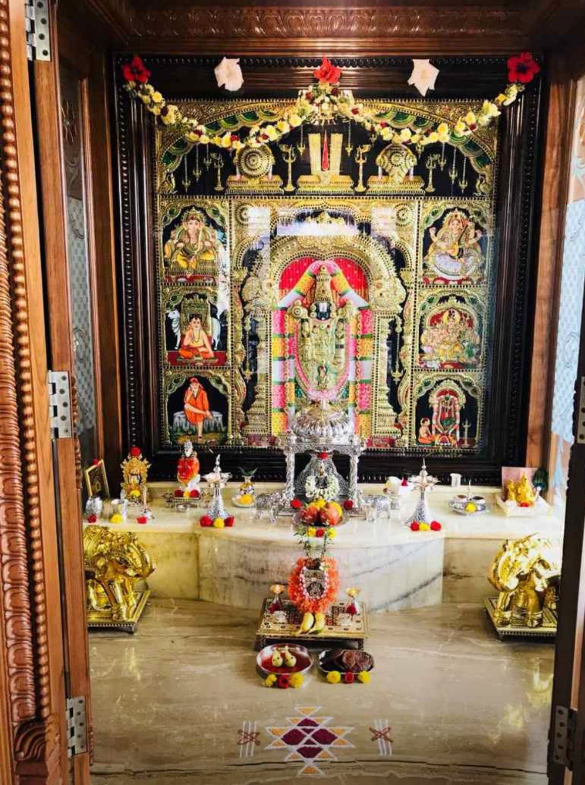 Home Disin Blouse In 2019 Pooja Room Design Puja Room Pooja Rooms