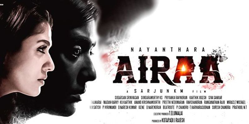 Lady Superstar Nayanthara plays a dual role in 'Airaa'