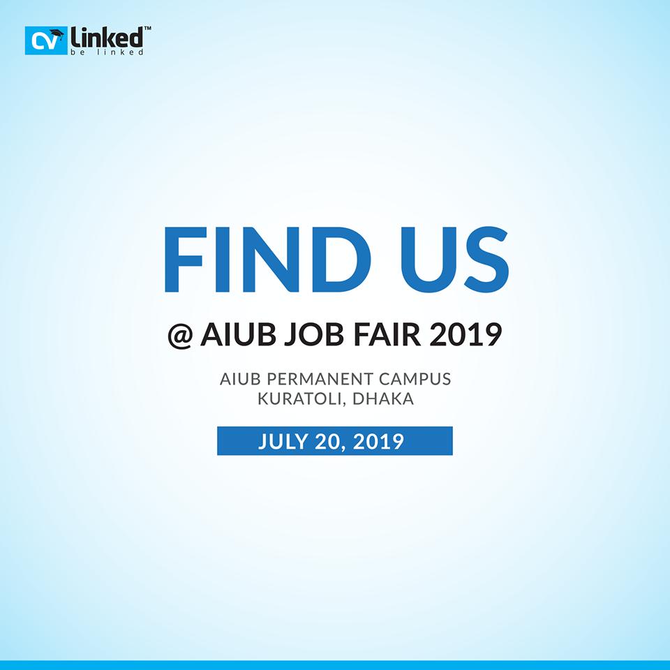 CVLinked AIUB JobFair Online cv, Job board
