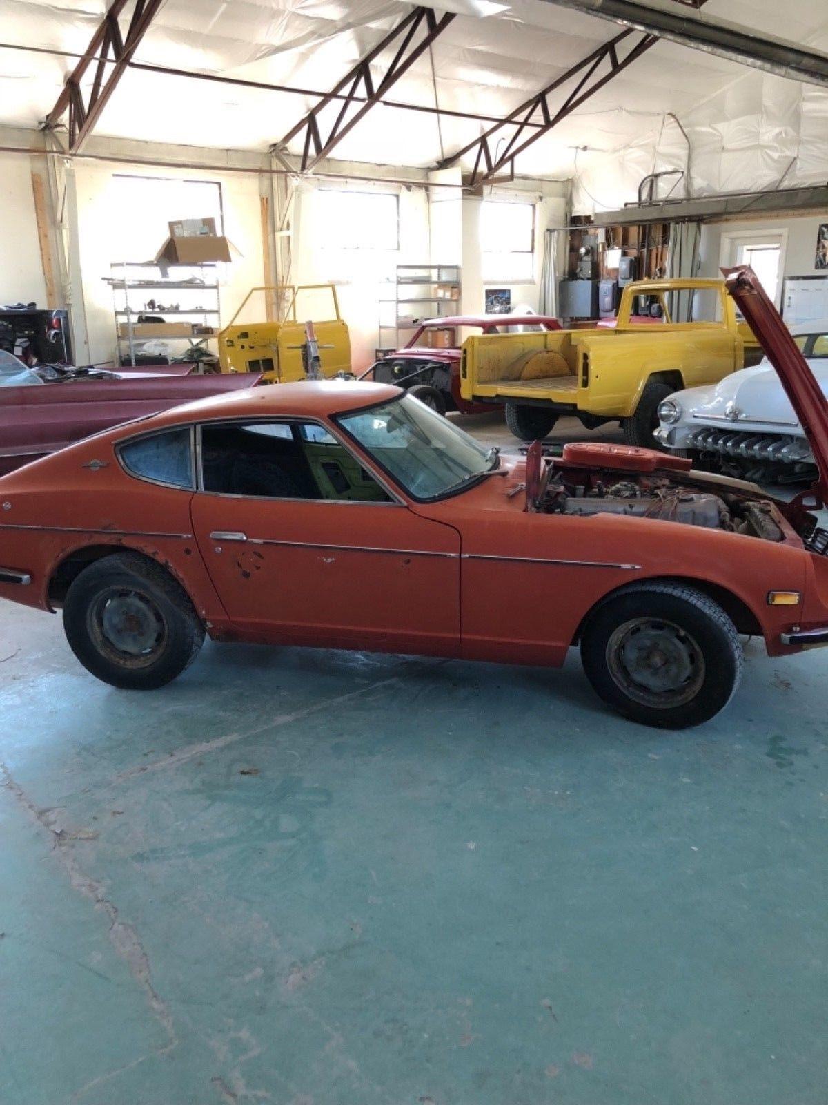 NICE 1970 Datsun Z Series Datsun, Salvage cars, Cars for