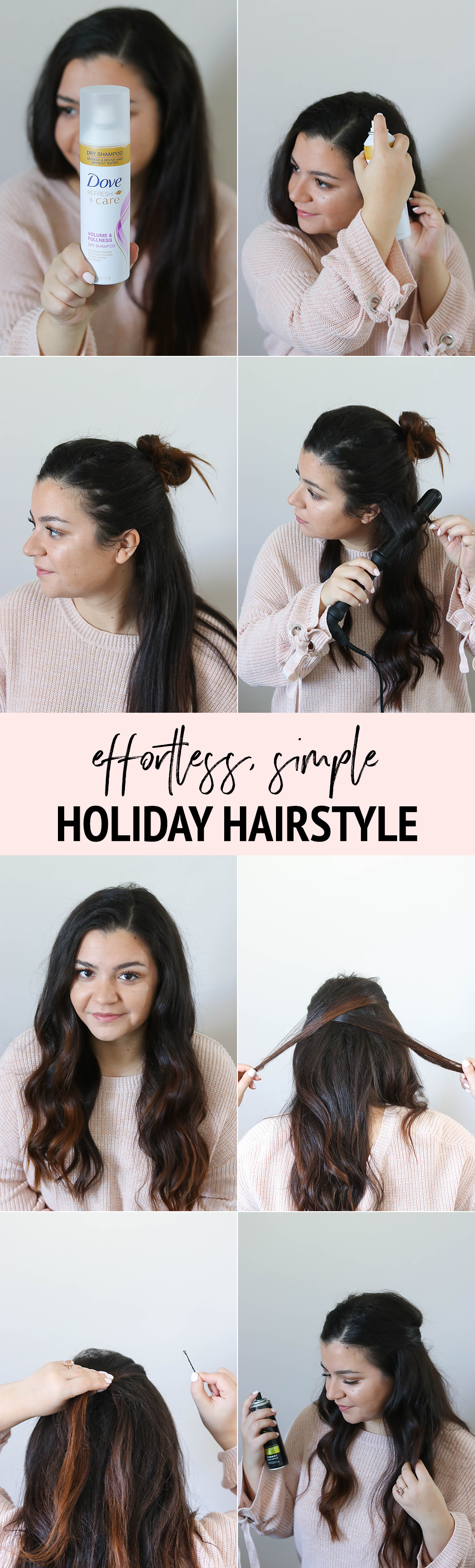 Simple holidayapproved hairstyle