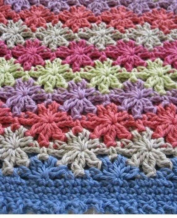 3 Stitch Catherines Wheel Great Star Effectfree Pattern Ravelry