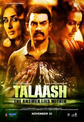 Talaash - watched it despite the suspense being spoiled by a friend..but once the movie ends & u try to make some sense of it; that is the real Talaash :D