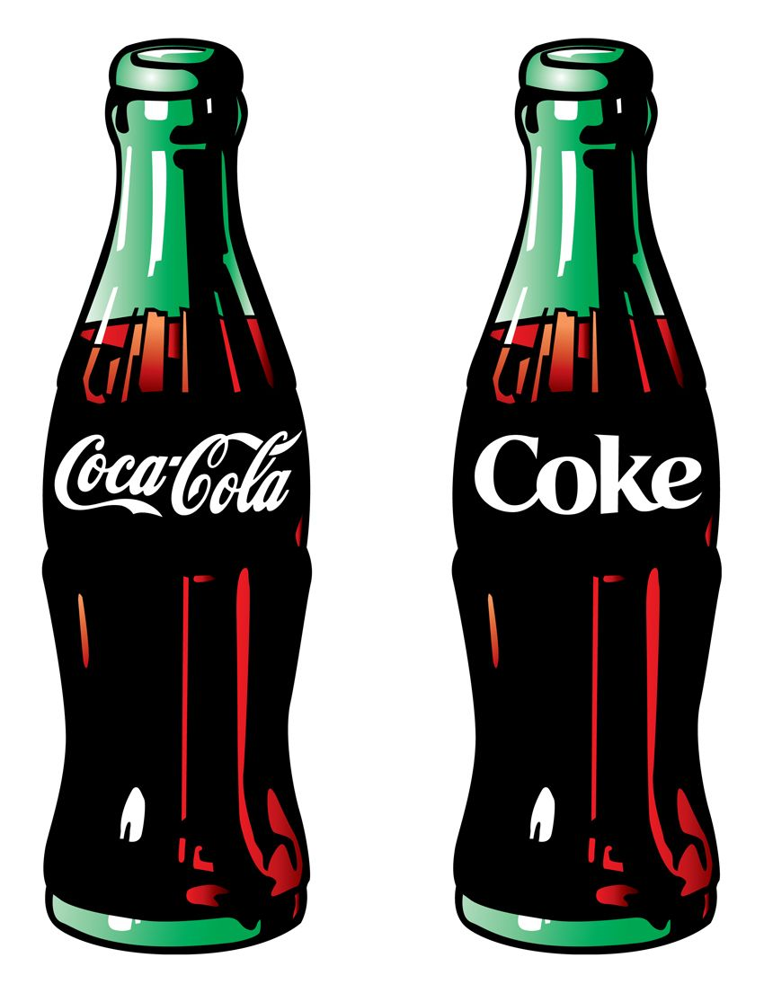 coke art graphic corner