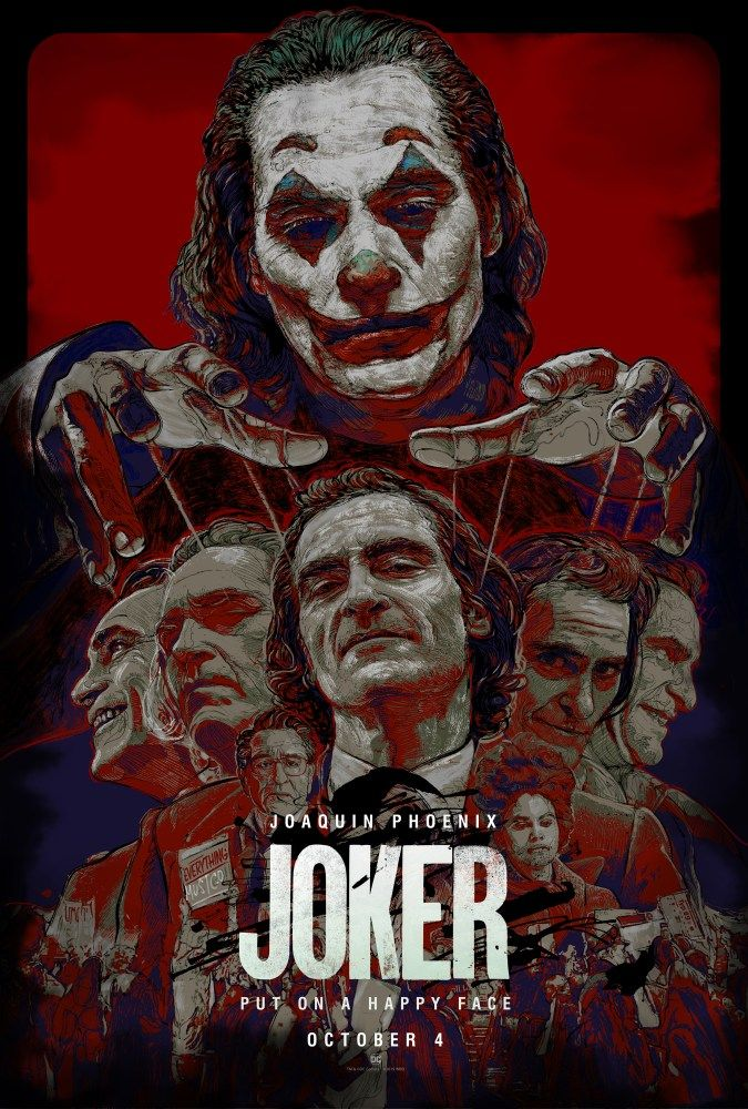 JOKER Alternative Movie Poster Hubert Fine Art in 2020