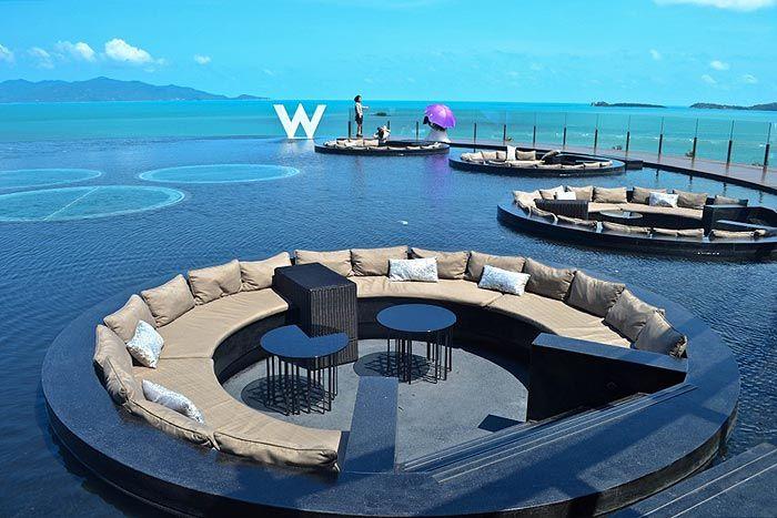 Thaimaa luksus Koh Samui W Retreat