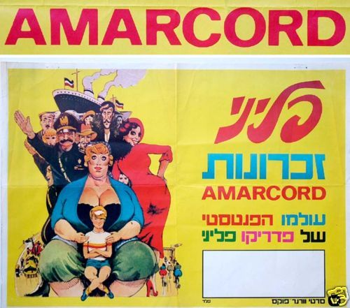 """Httpwww Overlordsofchaos Comhtmlorigin Of The Word Jew Html: Details About PREMIERE Vintage FELLINI """"AMARCORD"""" Israel"""