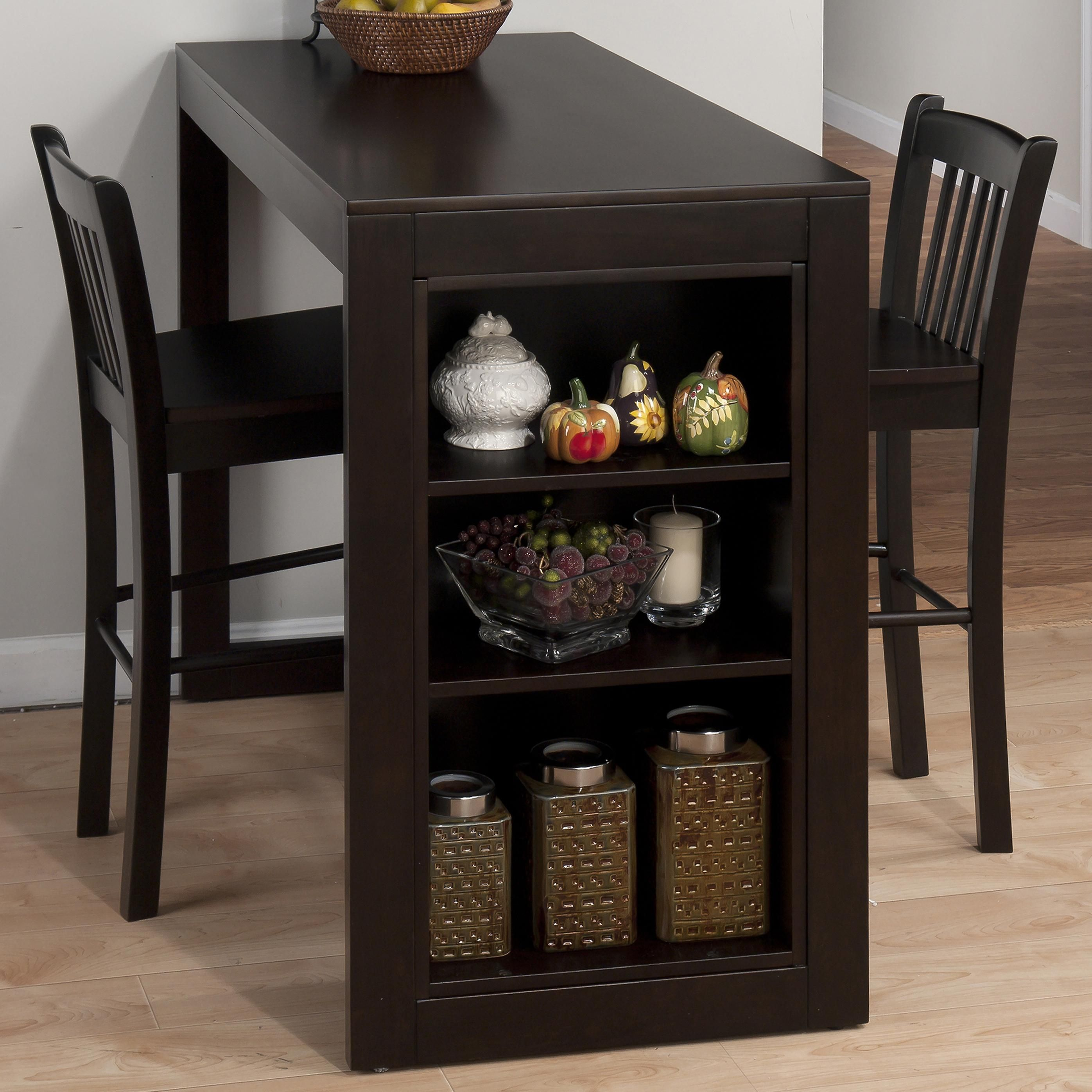 Maryland Merlot Counter Height Table With Storage By Jofran