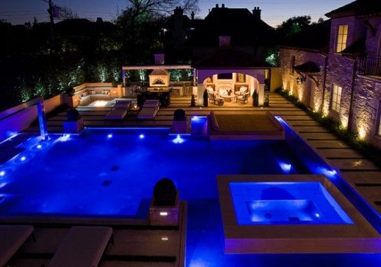 15 Amazing Poolside Area Designs Digsdigs