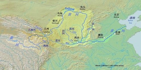 The Yellow River: Facts and History--Huang He is what the ...