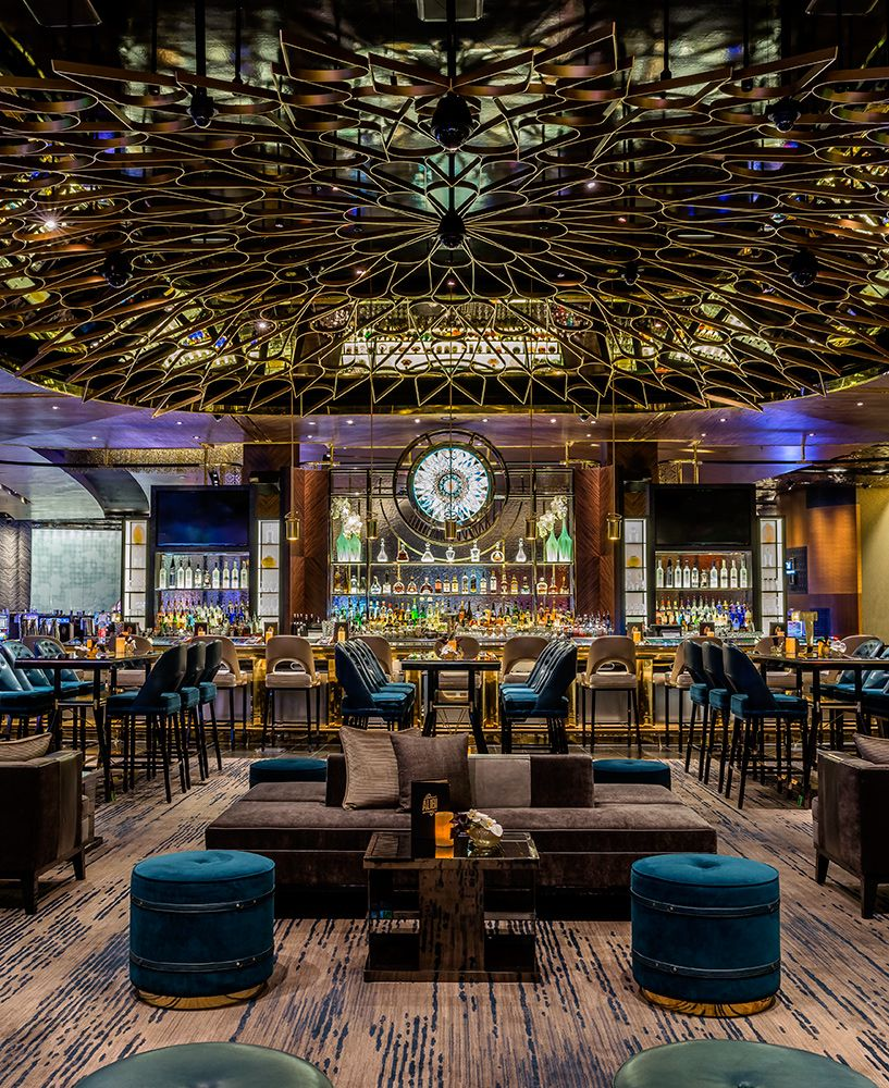 Located at the aria resort casino las vegas designed by studio munge architecture by yws Interior decorators las vegas