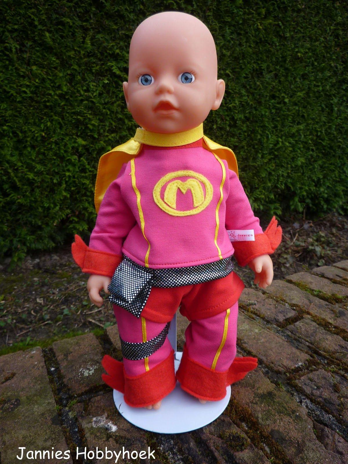 Jannies Hobbyhoek: Mega Mindy voor My Little BabyBorn, eigen ontwerp