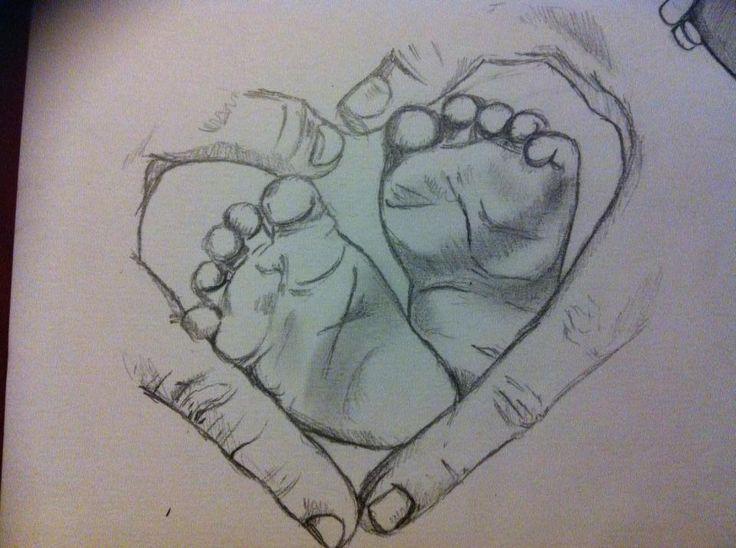 Photo of Sinnvolle Tattoos – wie Babys Füße zeichnen #meaningfultattoos Best Meaningfu …