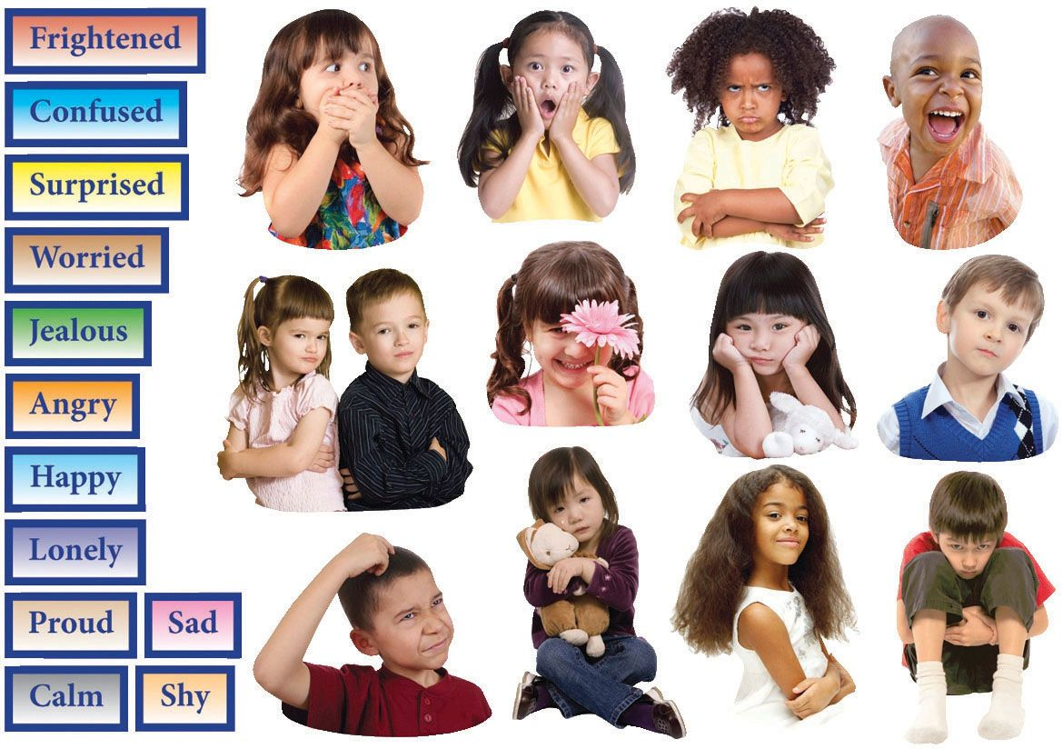 Help children interpret their own feelings and emotions by ...