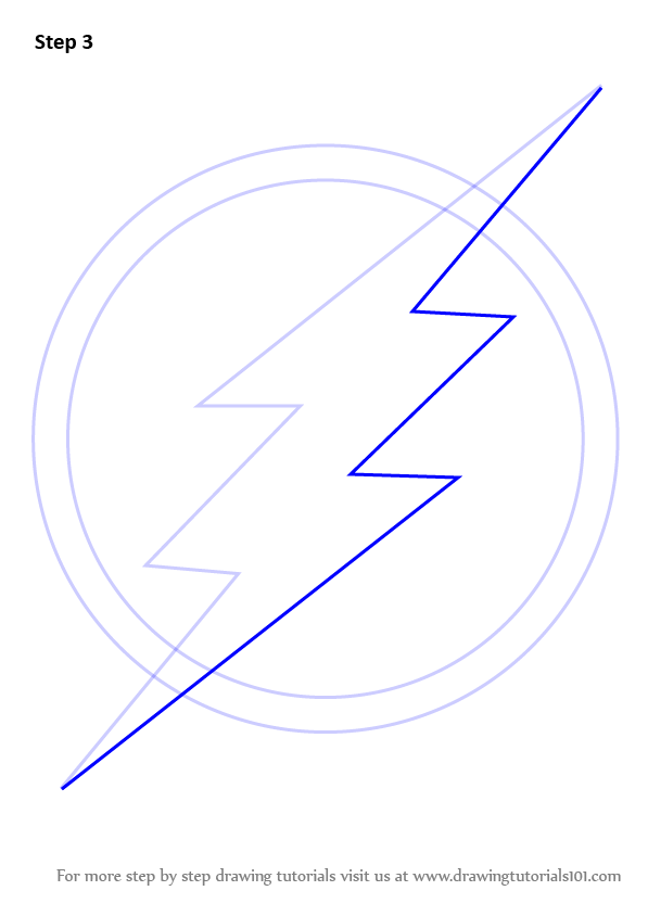 Flash Logo Drawing : flash, drawing, Learn, Flash, Symbol, Flash), Drawing, Tutorials, Drawing,, Logo,, Outline