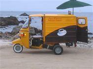 Moto-Espresso Coffee Cart