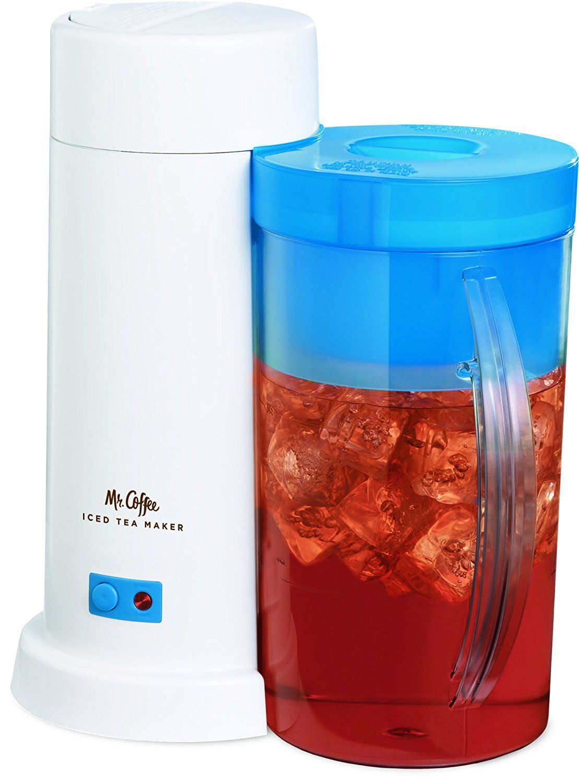 Mr. Coffee 2Quart Iced Tea Maker for Loose or Bagged Tea
