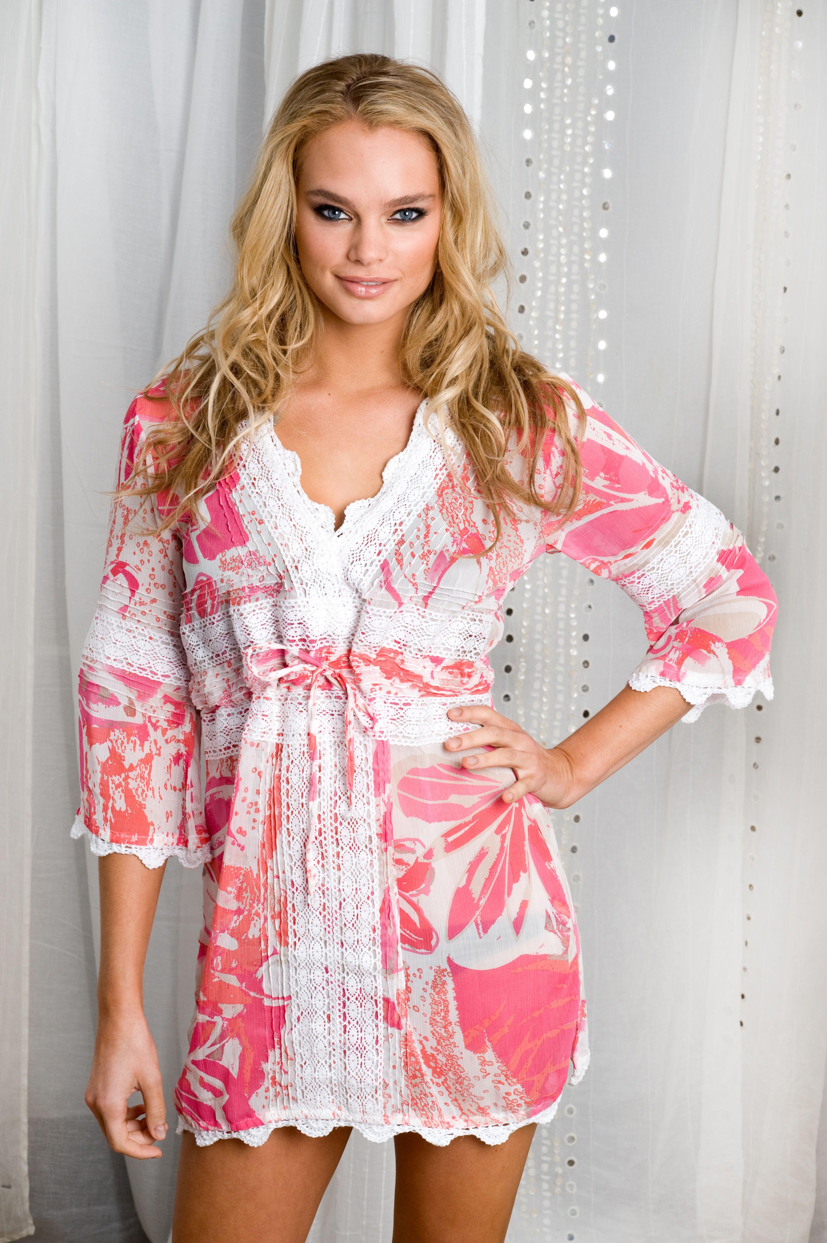 Hawaiian valentine pintuck dress long or short this dress is