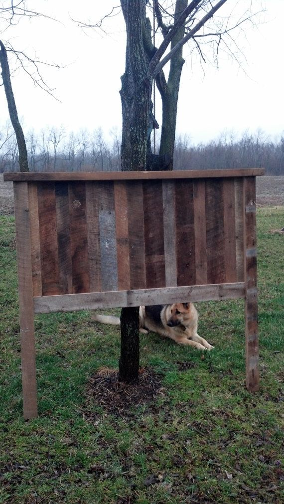 Headboard Made From Reclaimed Barn Wood By OldWoodNewCharm On Etsy, $350.00