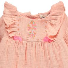 Clothing, Shoes & Accessories Bright Bonpoint Ravissante Blouse Tunique Brodée Main Manches Longues 6 Mois Baby & Toddler Clothing