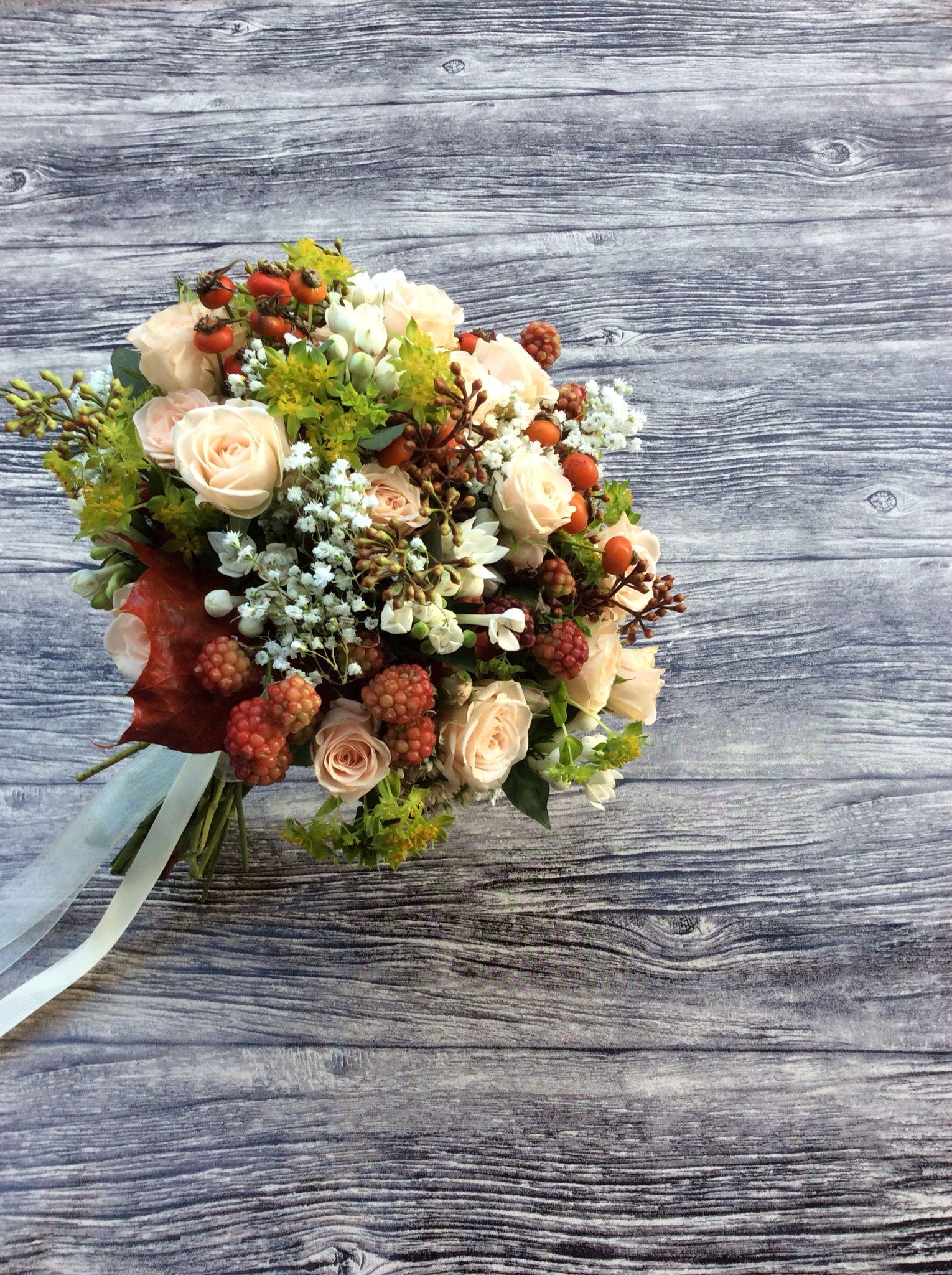 Ramo novia otoñal Arimany Estudi Floral