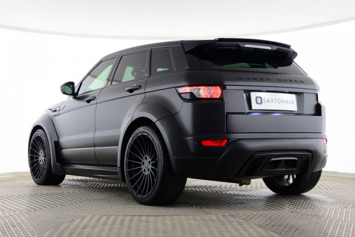Used Land Rover Range Rover Evoque Sd4 Dynamic 5 Door Hamann Edition Black For Sale Essex Yy15jhj Saxton 4x4 Range Rover Evoque Range Rover Used Range Rover