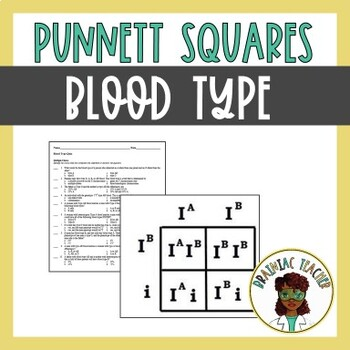 Blood Type/Multiple Alleles Blood, Teaching, Teacher pay