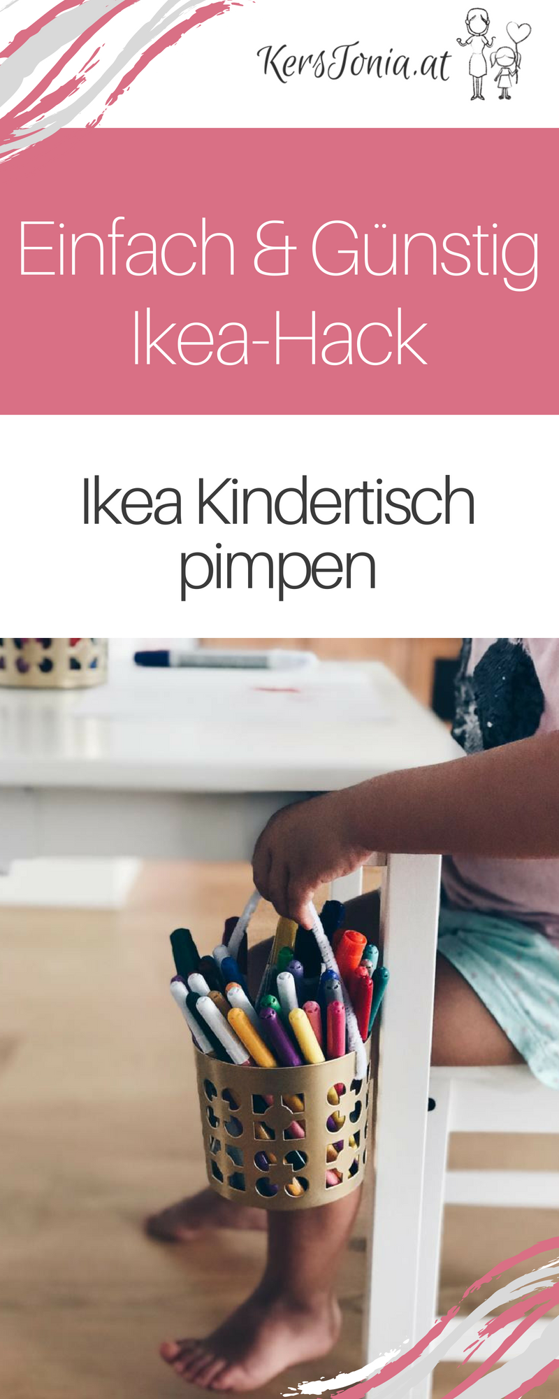 Office Günstig How To Ikea Kindertisch Upcycling Einfach Günstig Family
