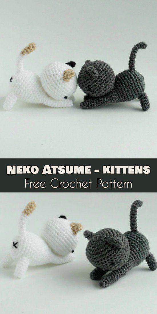 Neko Atsume – Amigurumi Sweet Cats [Free Pattern] #amigurumifreepattern