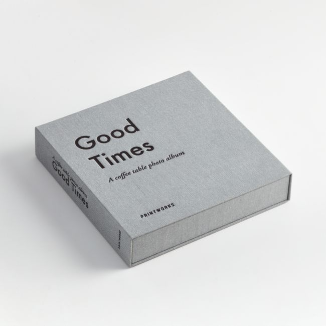 Good Times Photo Album Book + Reviews | Crate and Barrel
