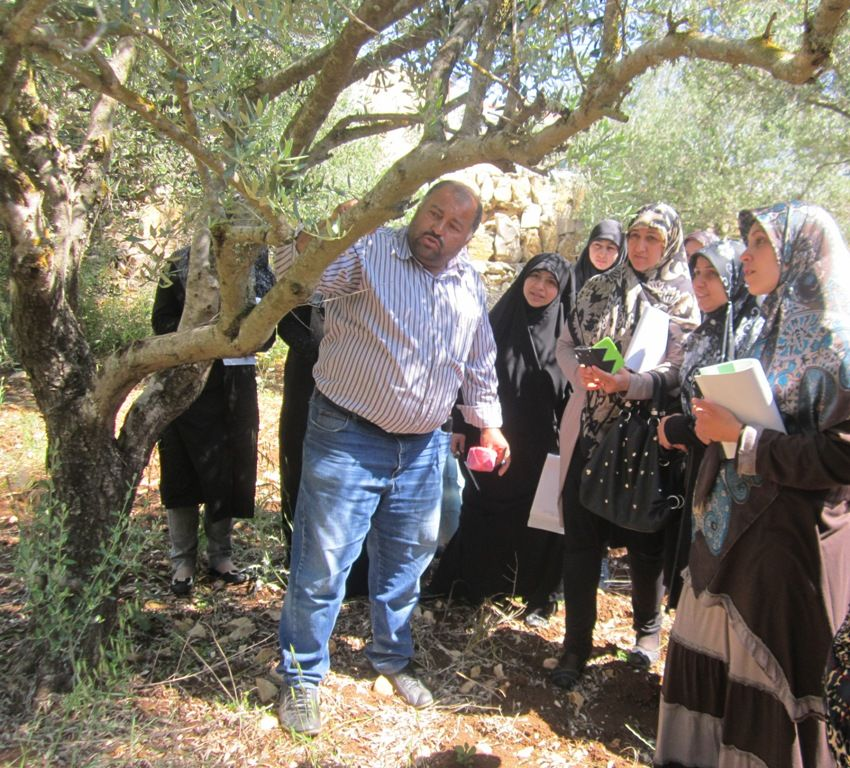 جولات زراعية للمرشدات البيئيات #jihad_al_binaa