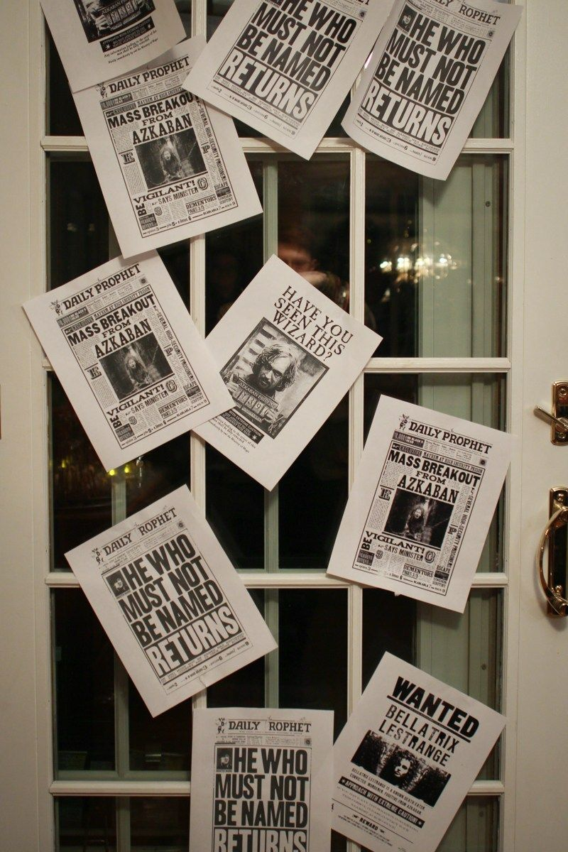 21 DIY Ideas for Your Next Harry Potter Party: Another Marquis Halloween